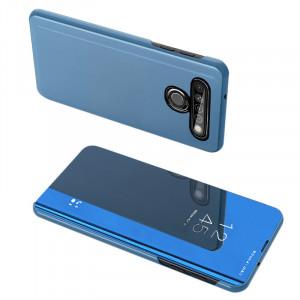Огледален калъф тип книга Clear View - LG K61 син