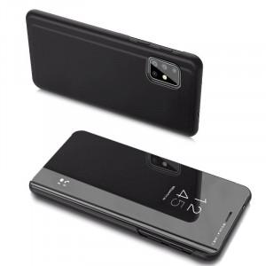 Огледален калъф тип книга Clear View - Samsung Galaxy A20s черен