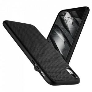 Оригинален гръб Spigen Liquid Air - iPhone XR черен мат