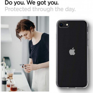 Оригинален гръб Spigen Liquid Crystal - - iPhone 7 / 8 / SE 2020 кристален