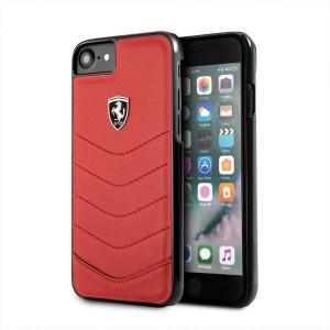 Оригинален твърд гръб Ferrari FEHQUHCI8RE - iPhone 7 / 8 / SE 2020 червен