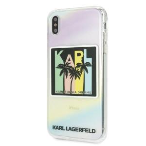 Оригинален твърд гръб KARL LAGERFELD Karlifornia Dreams KLHCI65IRKD - iPhone XS Max