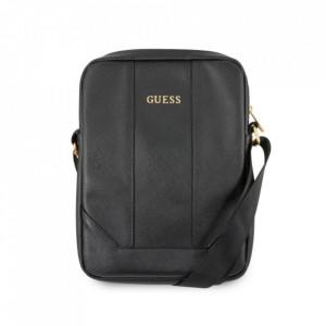 """Оригинална чанта GUESS Saffiano GUTB10TBK - таблет 10"""" черен"""