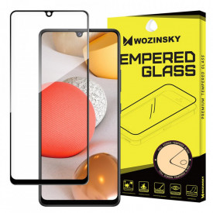 Протектор с пълно покритие и рамка WOZINSKY – Samsung Galaxy A42 5G черен