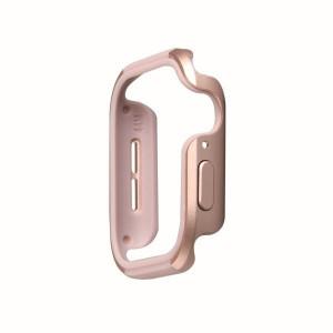 Рамка UNIQ Valencia - Apple Watch 4 / 5 44mm розово злато