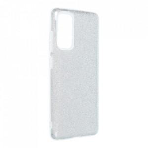 Силиконов гръб FORCELL Shining - Samsung Galaxy S20 FE / S20 FE 5G сребърен