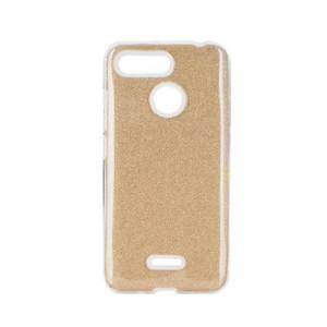 Силиконов гръб FORCELL Shining - Xiaomi Redmi 9 златист