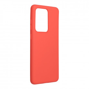 Силиконов гръб FORCELL Silicone Lite - Galaxy S21 Ultra розов