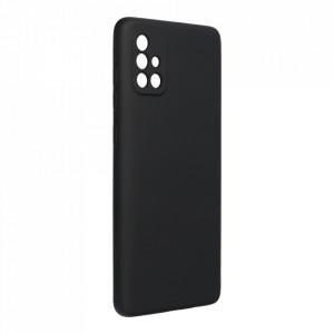 Силиконов гръб FORCELL Silicone Lite - Samsung Galaxy A72 / A72 5G черен