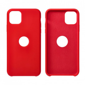 Силиконов гръб FORCELL Silicone - Samsung Galaxy S21 Ultra червен