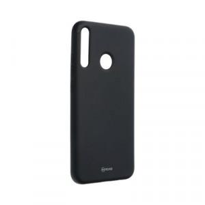 Силиконов гръб ROAR Colorful Jelly - Huawei P40 Lite E черен