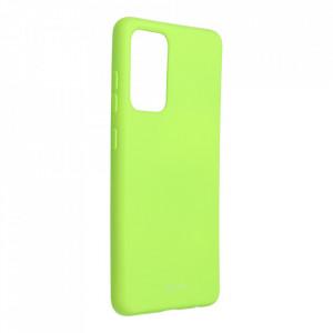 Силиконов гръб ROAR Colorful Jelly - Samsung Galaxy A52 4G / 5G лайм
