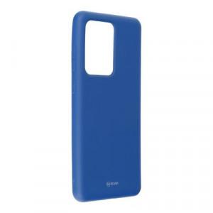 Силиконов гръб ROAR Colorful Jelly - Samsung Galaxy S20 Ultra тъмносин