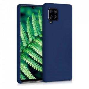 Силиконов гръб Soft Flexible Rubber - Samsung Galaxy A42 5G син