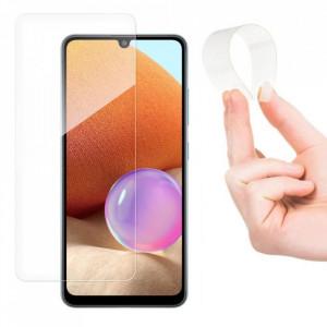Стъклен протектор пълно покритие с рамка Wozinsky Flexi Nano Glass Hybrid - Samsung Galaxy A42 5G прозрачен