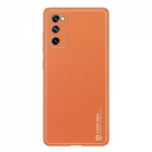 Гръб Dux Ducis Yolo - Samsung Galaxy S20 FE / S20 FE 5G оранжев