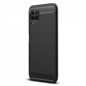 Гръб FORCELL Carbon - Samsung Galaxy A12 черен