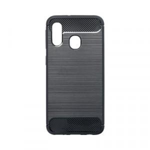 Гръб FORCELL Carbon - Samsung Galaxy A40 черен