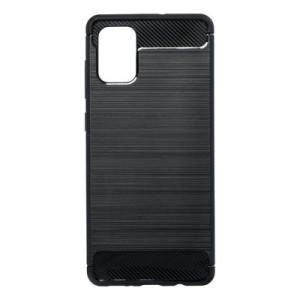 Гръб FORCELL Carbon - Samsung Galaxy A71 черен