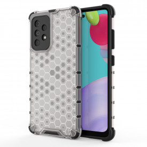 Гръб Honeycomb Armor със силиконов бъмпер - Samsung Galaxy A52 5G / A52 прозрачен