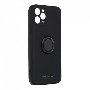 Гръб Roar Amber с държач - iPhone 11 Pro черен