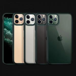 Гръб Spigen Ultra Hybrid - iPhone 11 Pro тъмнозелен