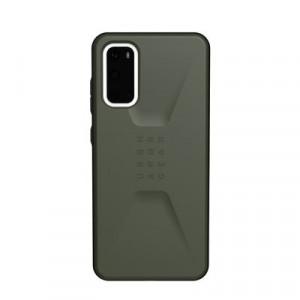 Гръб UAG Civilian - Samsung Galaxy S20 тъмнозелен