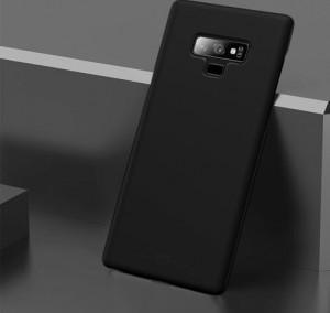 Гъвкав силиконов гръб - Samsung Galaxy J6 Plus - черен