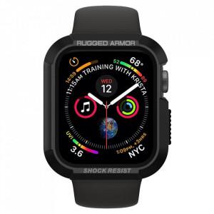 Каишка Spigen Rugged Armor - Apple Watch 4 / 5 44mm черен