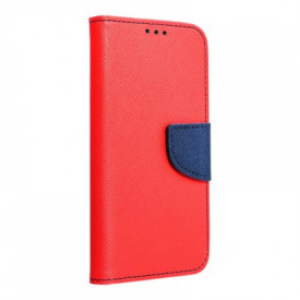 Калъф тип книга Fancy - Xiaomi Mi 10 Lite червен
