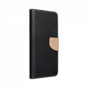 Калъф тип книга Fancy - Xiaomi Redmi Note 10 / 10S черен / златист