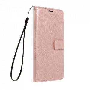 Калъф тип книга Forcell MEZZO - Samsung Galaxy A12 мандала / розово злато