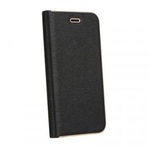 Калъф тип книга Luna - iPhone 12 / 12 Pro черен