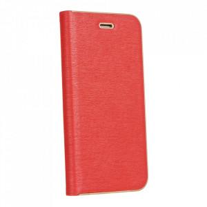 Калъф тип книга Luna - Samsung Galaxy A12 червен