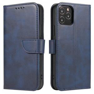Калъф тип книга Magnet Elegant - Samsung Galaxy A72/A72 5G син
