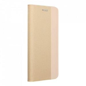 Калъф тип книга Sensitive - Huawei P Smart 2021 златист