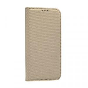 Калъф тип книга Smart - Huawei P40 Lite E златист