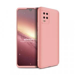 Калъф 360° GKK Full Body Cover (без стъкло) - Xiaomi Mi 10 Lite розов