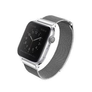 Метална каишка UNIQ Dante - Apple Watch 4 40mm сребърен