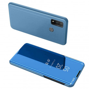 Огледален калъф тип книга Clear View - Huawei P Smart 2020 син