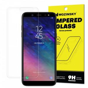 Плосък стъклен протектор 9H WOZINSKY - Samsung Galaxy A6 2018