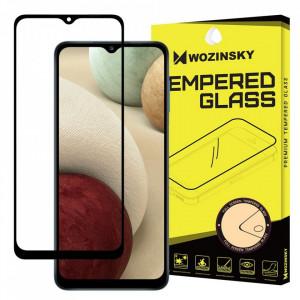 Протектор с пълно покритие и рамка WOZINSKY съвместим с гръб - Samsung Galaxy A32 5G черен