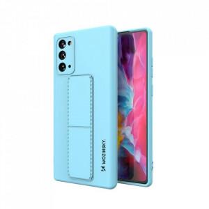 Силиконов гръб със стойка Wozinsky Kickstand - Samsung Galaxy Note 20 син