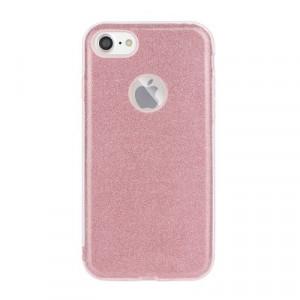 Силиконов гръб FORCELL Shining - Huawei P40 Lite E розов
