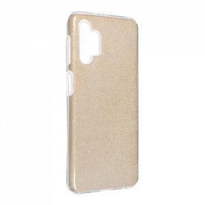 Силиконов гръб FORCELL Shining - Samsung Galaxy A32 златист