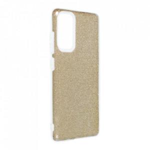 Силиконов гръб FORCELL Shining - Samsung Galaxy S20 FE / S20 FE 5G златен