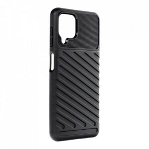 Силиконов гръб Forcell THUNDER - Samsung Galaxy A22 LTE ( 4G ) черен