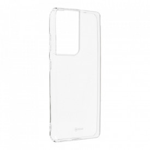 Силиконов гръб Jelly Case Roar - Samsung Galaxy S21 Ultra прозрачен