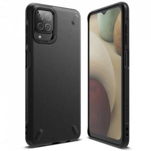 Силиконов гръб RINGKE Onyx - Samsung Galaxy A12 / M12 черен (OXSG0050)