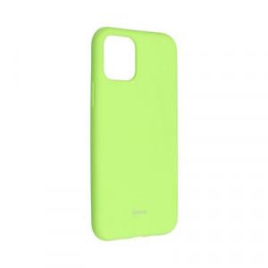 Силиконов гръб ROAR Colorful Jelly - iPhone 11 Pro лайм
